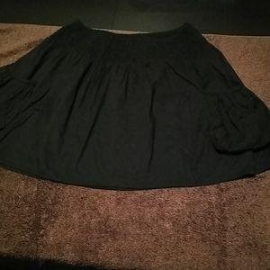 Black mossimo mini skirt
